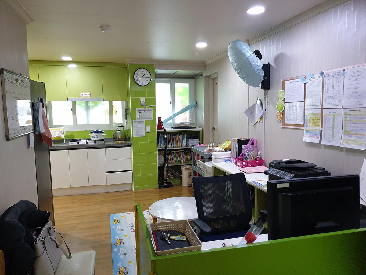 5 번째 사진 교육연구시설 에  연면적156.25 ㎡ 동그라미 어린이집 석면조사