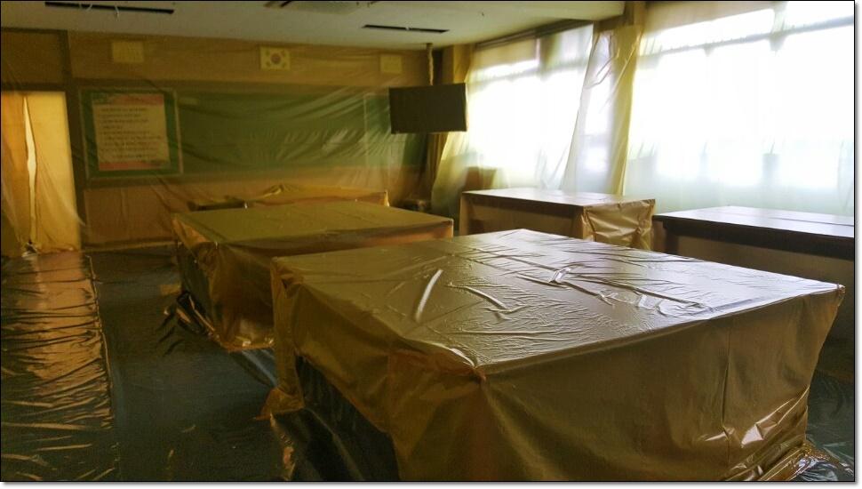 11 번째 사진  에  연면적100 ㎡ 부산 사상구 중학교 석면철거