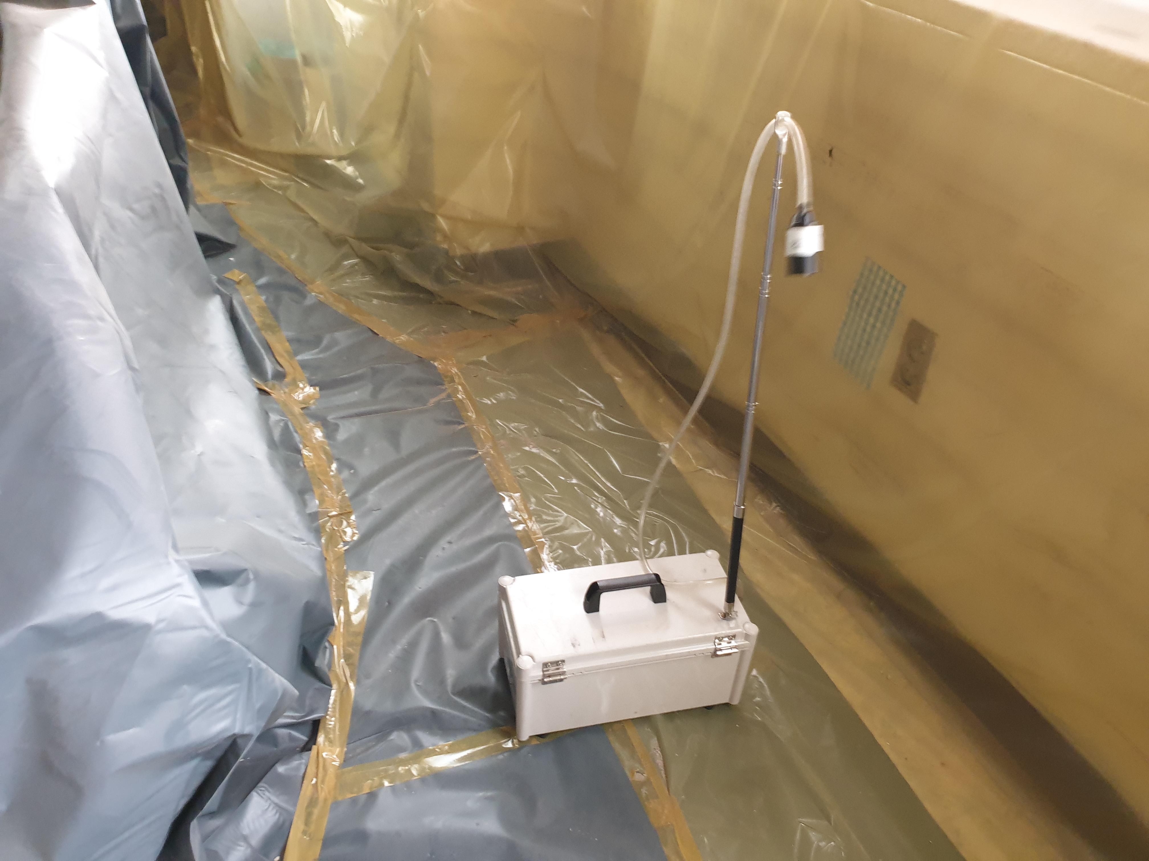 3 번째 사진 제2종 근린생활시설 에  연면적394.34 ㎡ 공기중 석면농도측정 창원시 의창구