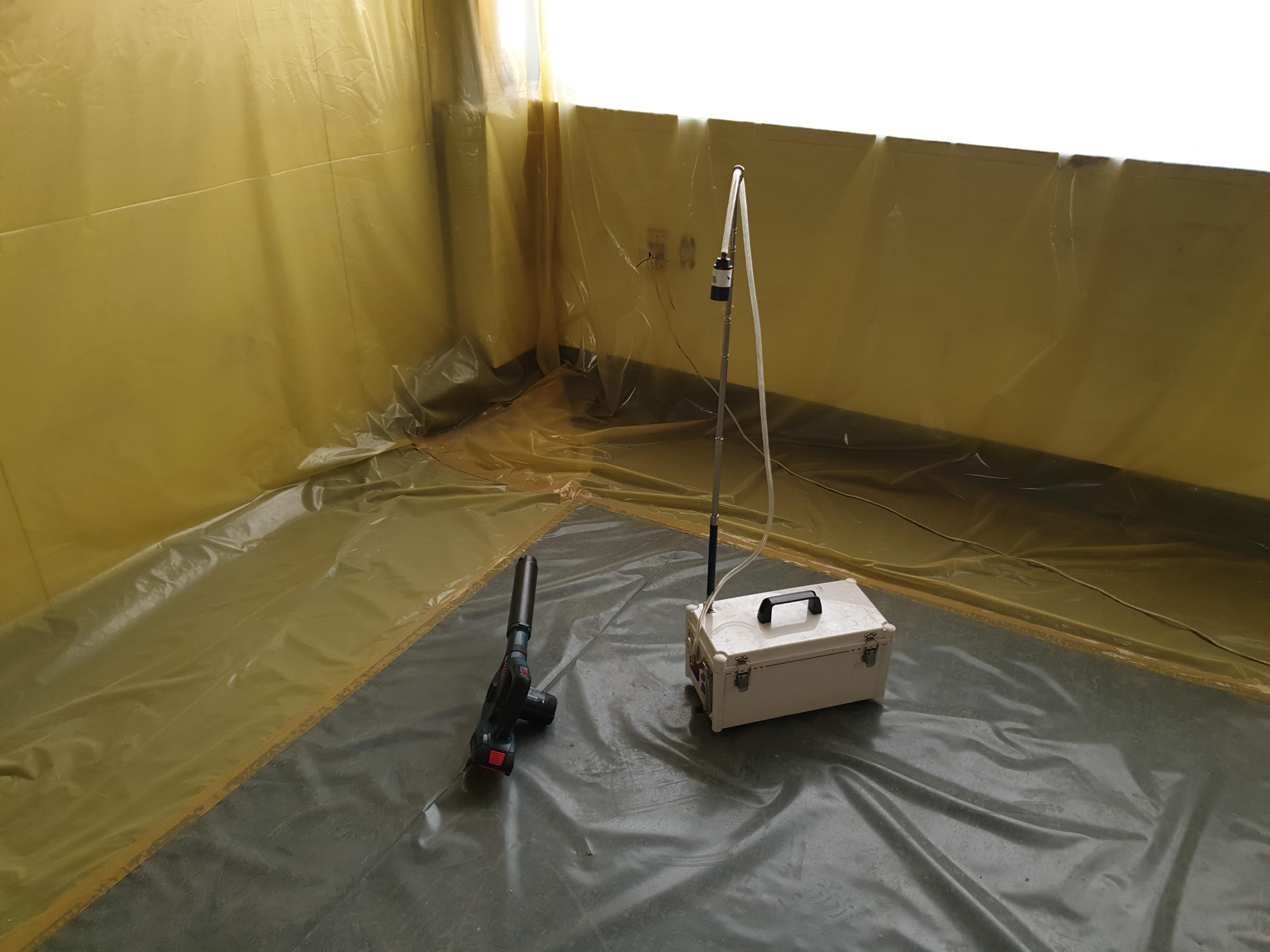 4 번째 사진 제2종 근린생활시설 에  연면적394.34 ㎡ 공기중 석면농도측정 창원시 의창구