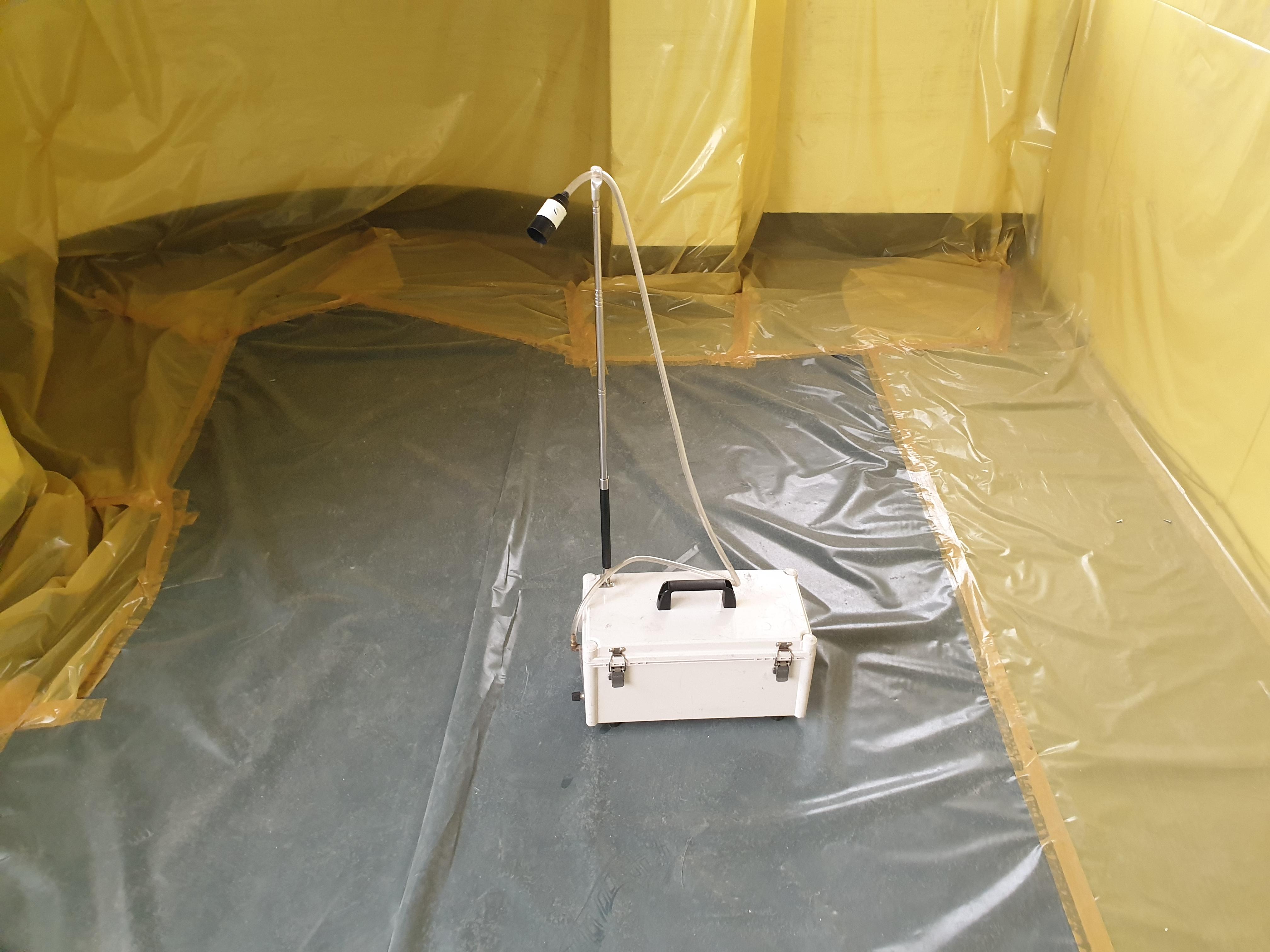 7 번째 사진 제2종 근린생활시설 에  연면적394.34 ㎡ 공기중 석면농도측정 창원시 의창구