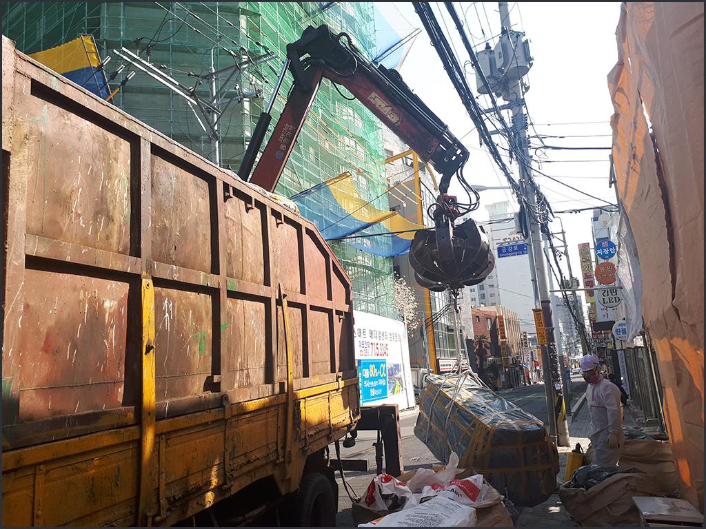 15 번째 사진  에  연면적124.65 ㎡ 서울 동대문구 석면 슬레이트철거/해체 리뷰