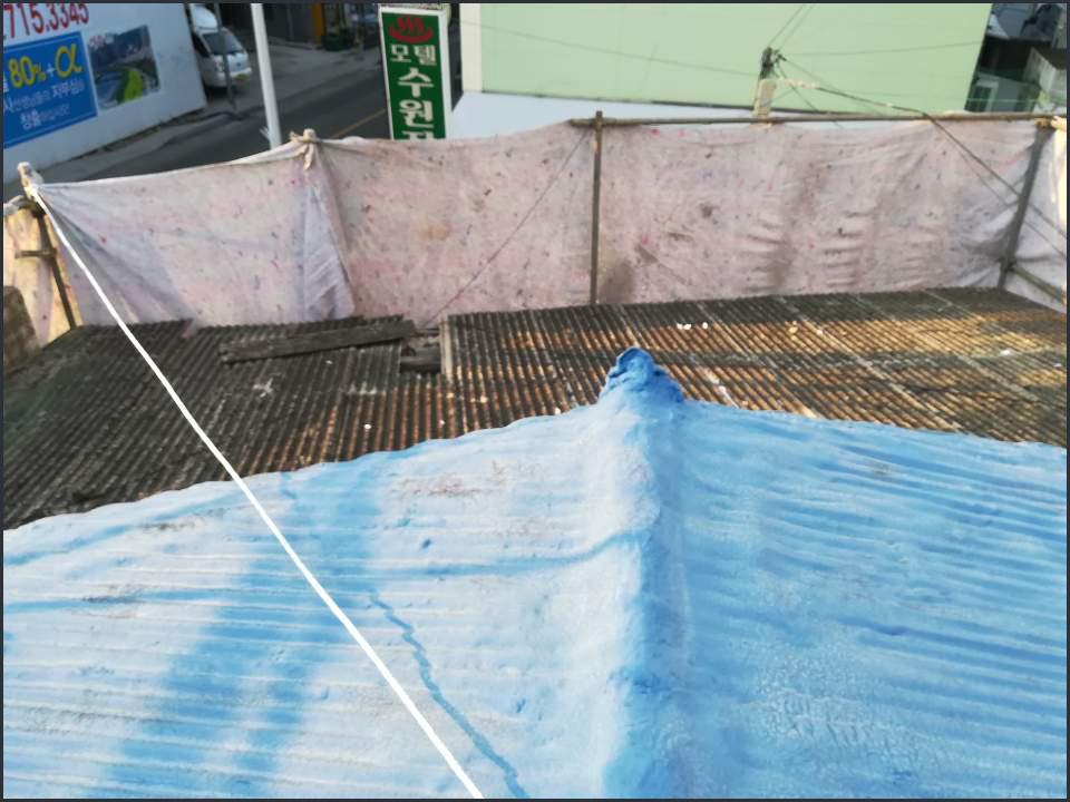 2 번째 사진  에  연면적124.65 ㎡ 서울 동대문구 석면 슬레이트철거/해체 리뷰