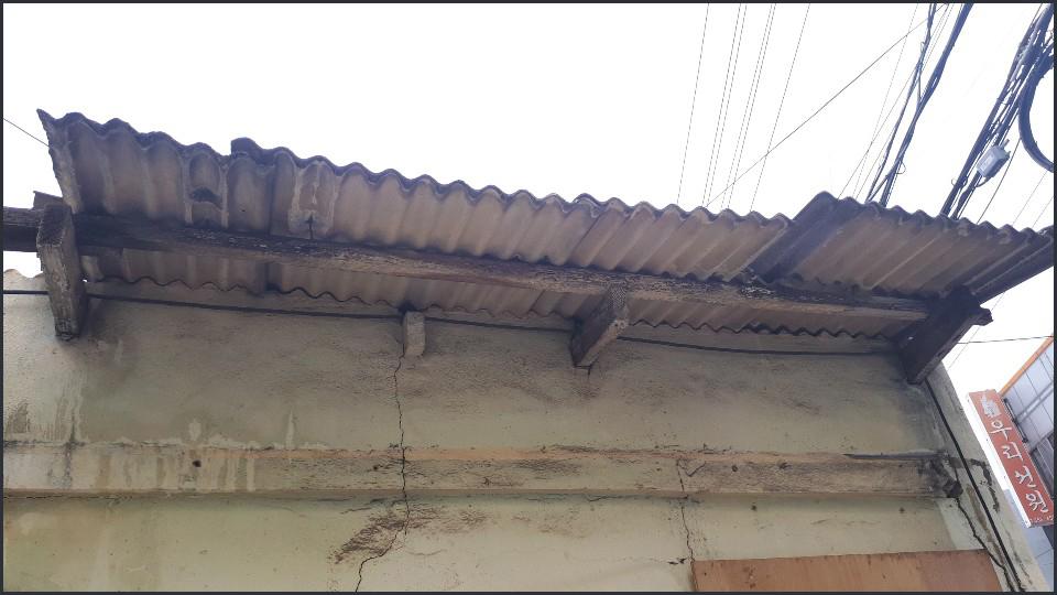 1 번째 사진  에  연면적124.65 ㎡ 서울 동대문구 석면 슬레이트철거/해체 리뷰