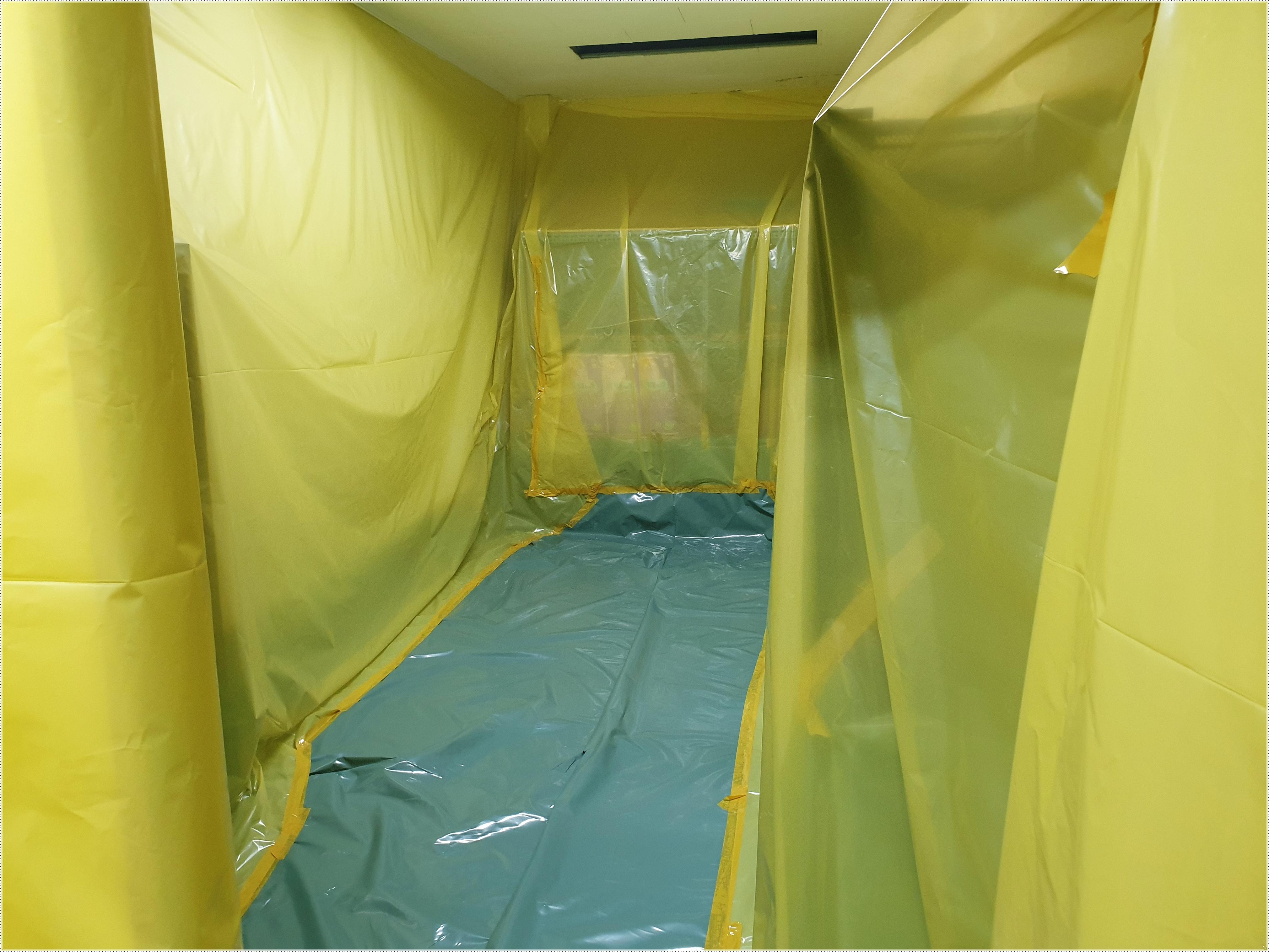 10 번째 사진  에  연면적 ㎡ 영도구 행정복지센터 석면 텍스 해체