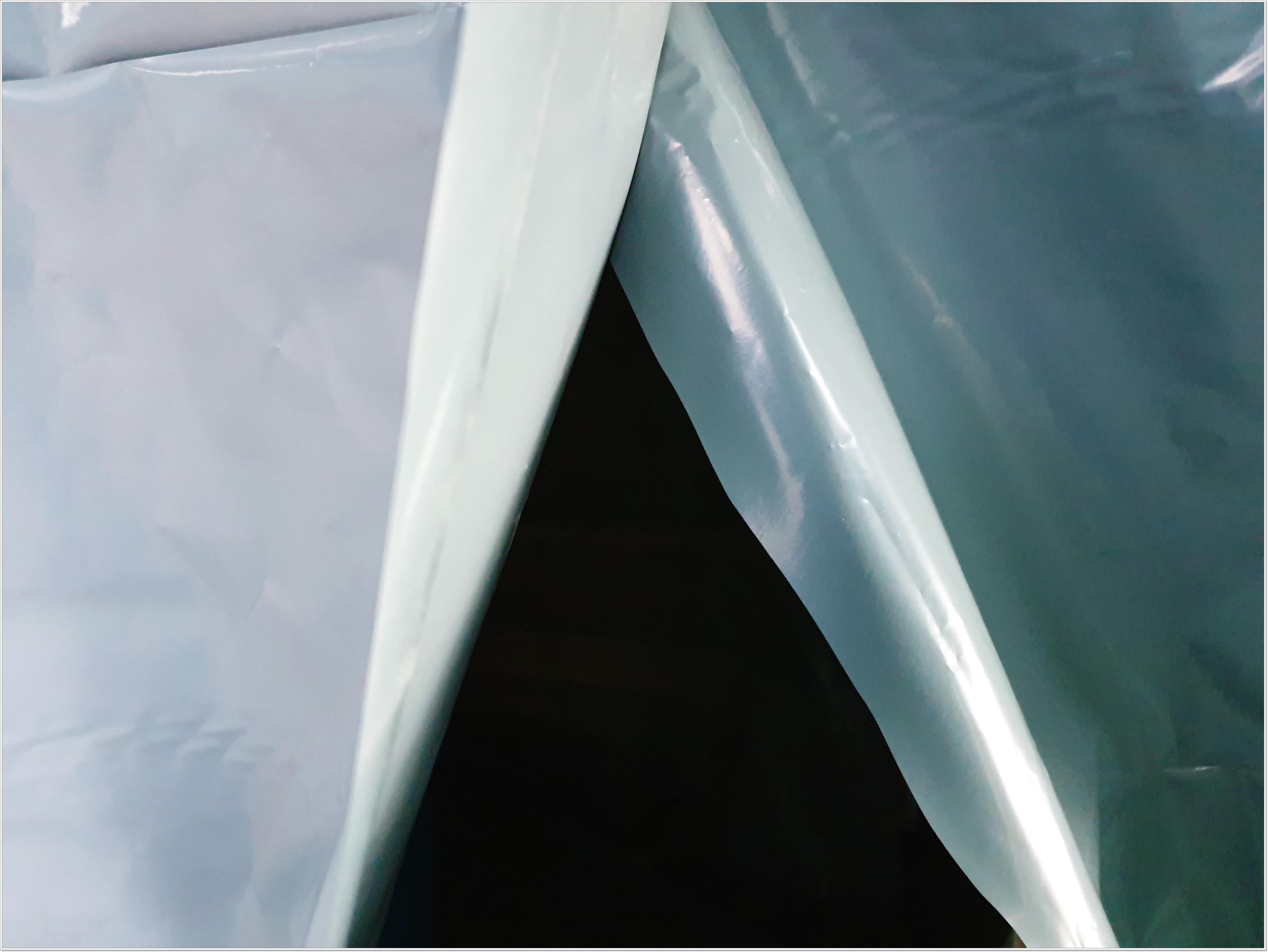 13 번째 사진  에  연면적 ㎡ 부산 중학교 석면해체 현장 (천장 텍스)