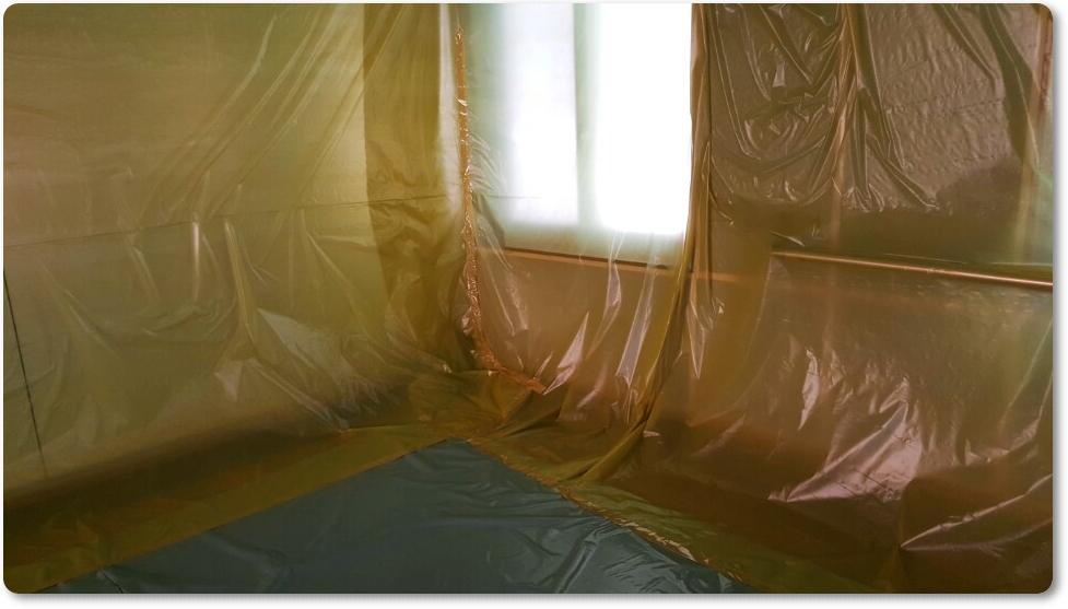 3 번째 사진  에  연면적 ㎡ 중학교 천장 석면 해체 현장 (경기도 수원시)