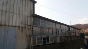경남 남해군 슬레이트지붕 석면철거현장
