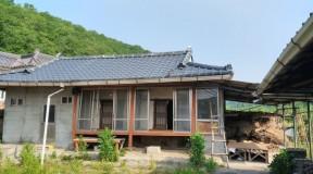 경북 영천시 화남면 주택 슬레이트지붕 석면철거현장
