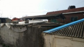 부산시 강서구 창고 슬레이트 지붕 석면철거 현장