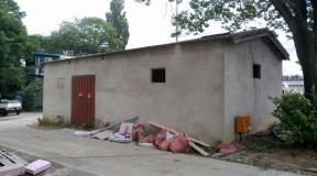 경북 경상신 임당동 창고 슬레이트지붕 철거 석면처리현장