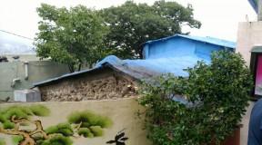 부산시 영도구 청학동 슬레이트지붕 석면처리현장