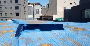 부산 부전동 주택 슬레이트 지붕 석면철거 처리현장